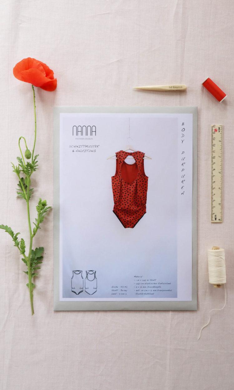 Body Papierschnittmuster