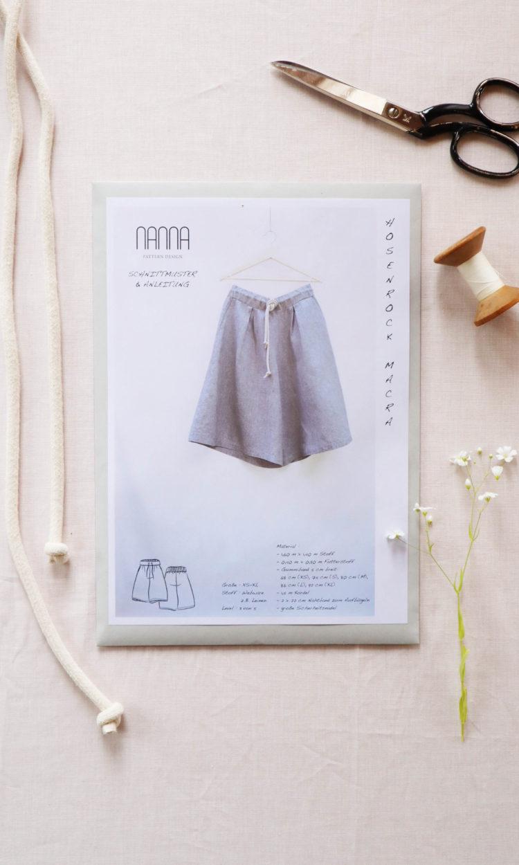 Hosenrock Papierschnitt