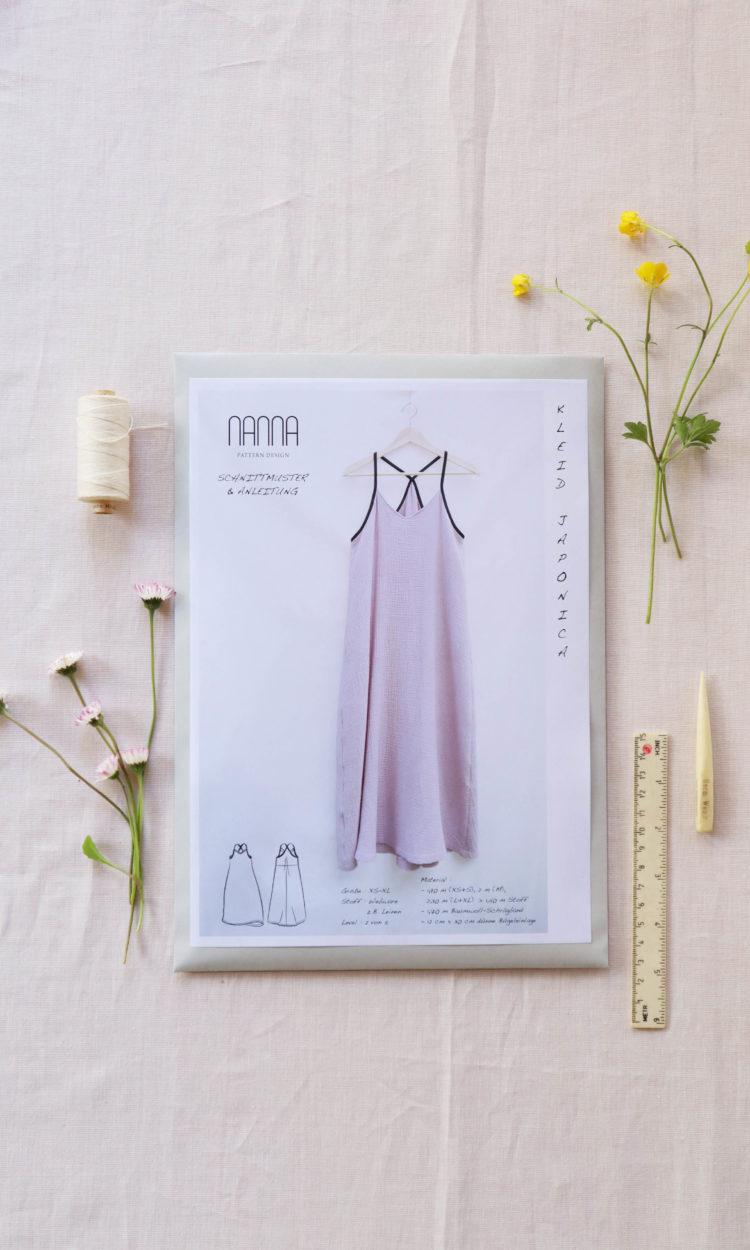 Kleid Papierschnittmuster