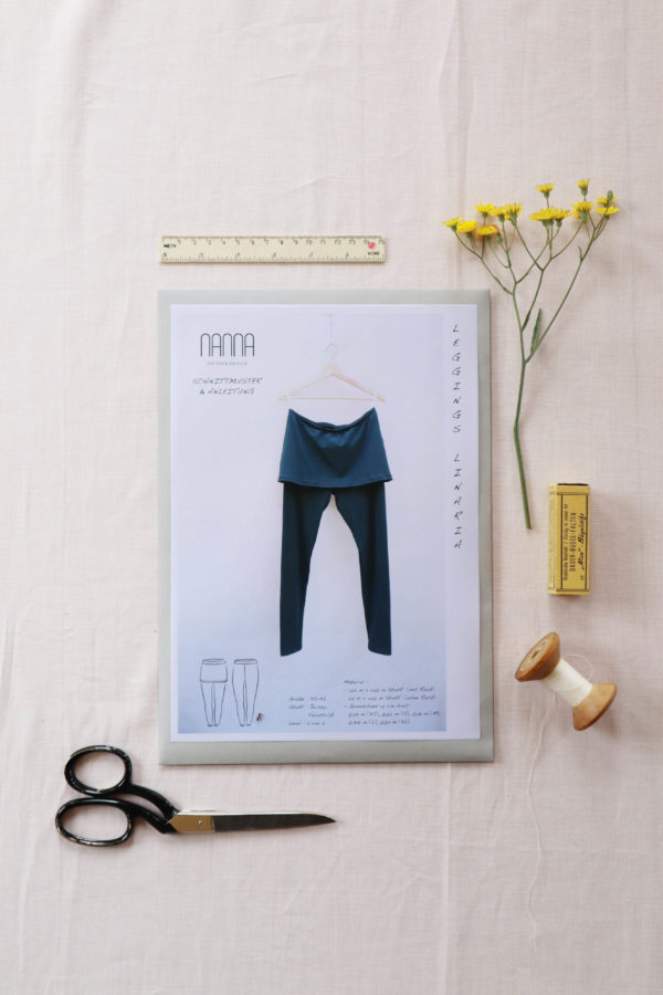 Leggings Papierschnittmuster